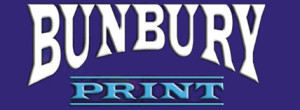 Bunbury Print Logo